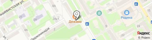 Каблучок на карте Краснокамска