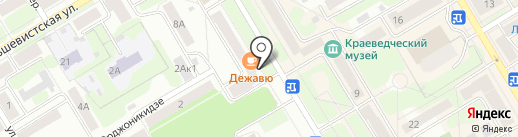 Qiwi на карте Краснокамска