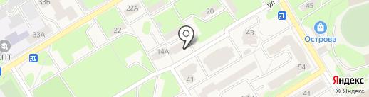Компания по аренде спецтехники на карте Краснокамска