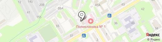 Автомаг на карте Краснокамска