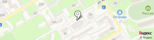 Ода Суши на карте Краснокамска