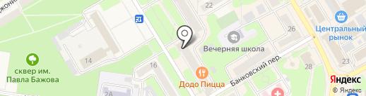 Centr на карте Краснокамска