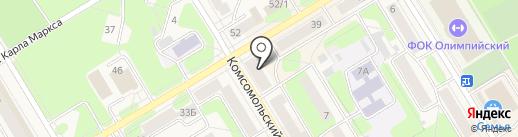 Проектсервис на карте Краснокамска