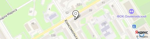 ДруГ на карте Краснокамска