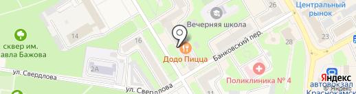 Для СемьИ на карте Краснокамска
