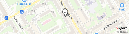 Банк ВТБ 24 на карте Краснокамска