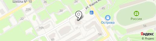 Арт-деко на карте Краснокамска