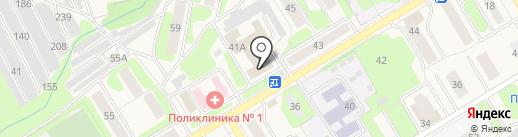 Отдел судебных приставов на карте Краснокамска