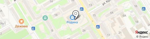 Магазин ивановского трикотажа на карте Краснокамска