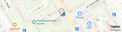 МегаФон на карте Краснокамска