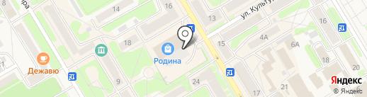 Банкомат, Банк Уралсиб, ПАО на карте Краснокамска