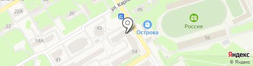 Пермское региональное отделение Фонда социального страхования РФ на карте Краснокамска