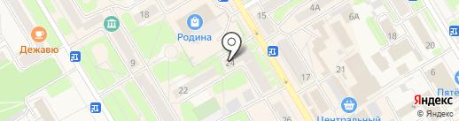 Мир обуви на карте Краснокамска