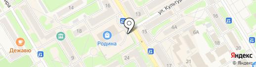 Связной на карте Краснокамска