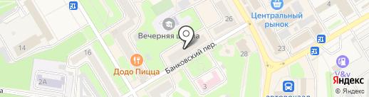 Хозяйка на карте Краснокамска