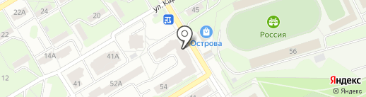 Общественная приемная сопредседателя ОНФ в Пермском крае Сазонова Д.В. на карте Краснокамска