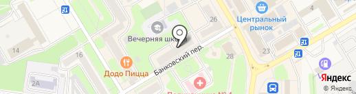 Центрофинанс на карте Краснокамска
