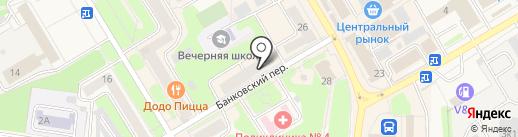 Продуктовый магазин на карте Краснокамска