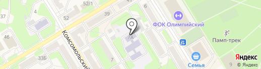 Детский сад №35 на карте Краснокамска