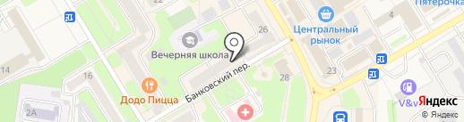 Пермфармация на карте Краснокамска