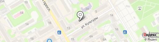 Маруся на карте Краснокамска