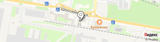 Лером на карте Краснокамска