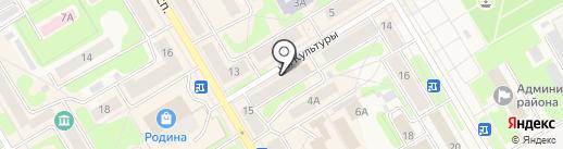 Магазин одежды на карте Краснокамска