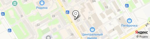 Магазин детской одежды на карте Краснокамска