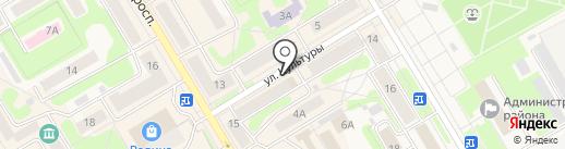 Валера на карте Краснокамска