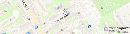 Ермолинские полуфабрикаты на карте Краснокамска