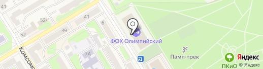 ДЮСШ по футболу г. Краснокамска на карте Краснокамска