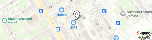 Мед Белогорья на карте Краснокамска