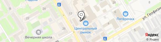 DамDеньги на карте Краснокамска