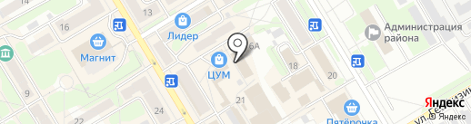 Магазин на карте Краснокамска