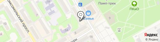Малина на карте Краснокамска