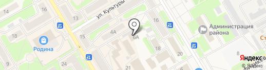 Бренд на карте Краснокамска