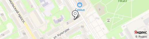 Тимон и Пумба на карте Краснокамска
