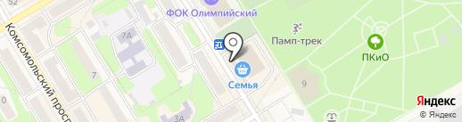Русский фейерверк на карте Краснокамска