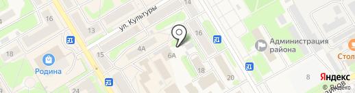 Платный общественный туалет на карте Краснокамска