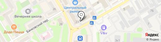 Мастерская по ремонту обуви на карте Краснокамска