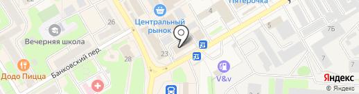 Carifan на карте Краснокамска