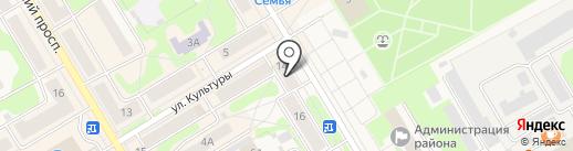 De Luxe на карте Краснокамска