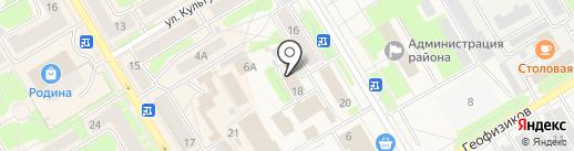 Межрайонная инспекция Федеральной налоговой службы России №16 по Пермскому краю на карте Краснокамска