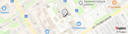 Мир пиротехники на карте Краснокамска
