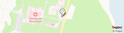 Молитвенная комната православного прихода строящегося храма во имя святой блаженной Матроны Московской на карте Краснокамска