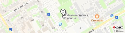Администрация Краснокамского муниципального района на карте Краснокамска