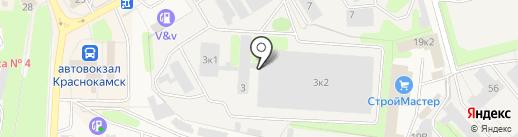 Престиж на карте Краснокамска