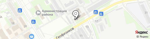 Государственная инспекция по охране и использованию объектов животного мира Пермского края на карте Краснокамска