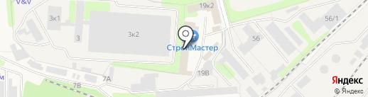 Маршал на карте Краснокамска