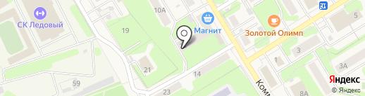 Мебельный магазин на карте Краснокамска